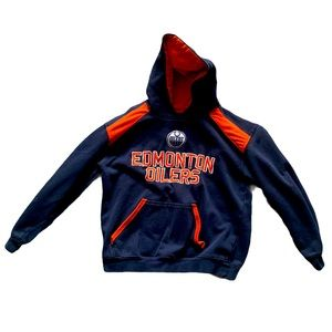 Edmonton Oilers Youth Hoodie Youth Large